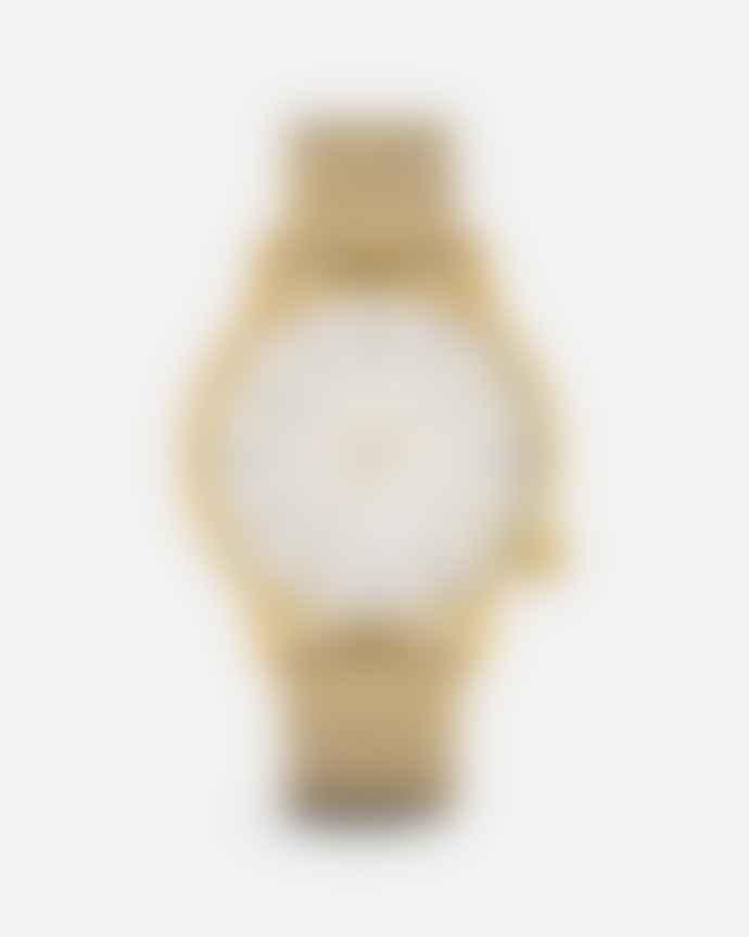 Komono Gold White Winston Royale Watch