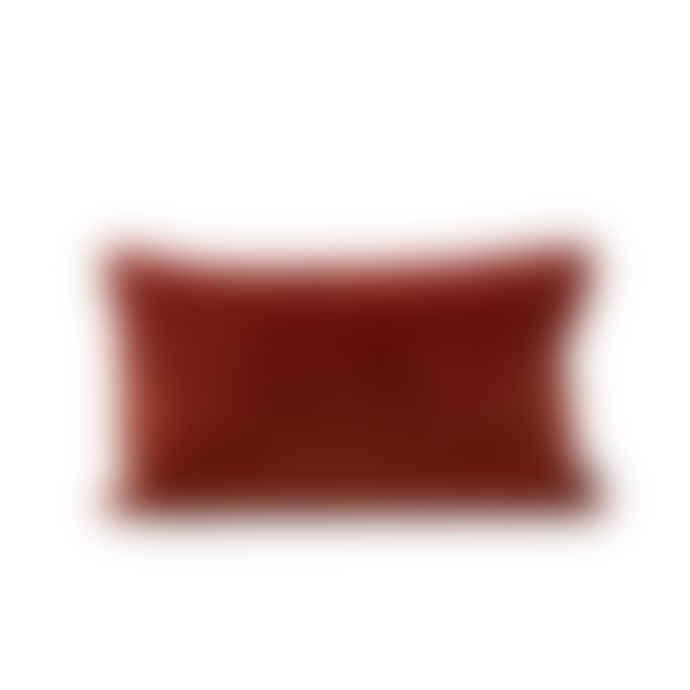 Also Home Misi Rust Velvet Cushion