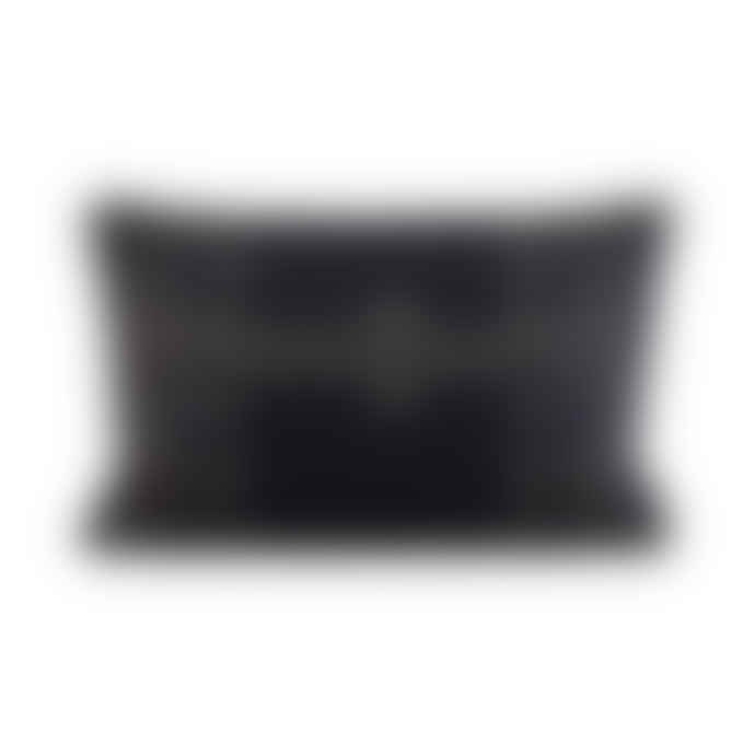 House Doctor Black Unik Cushion