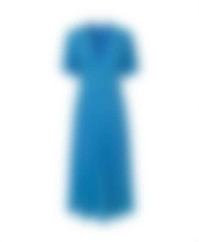 Samsoe & Samsoe Blue Cindy Maxi Dress