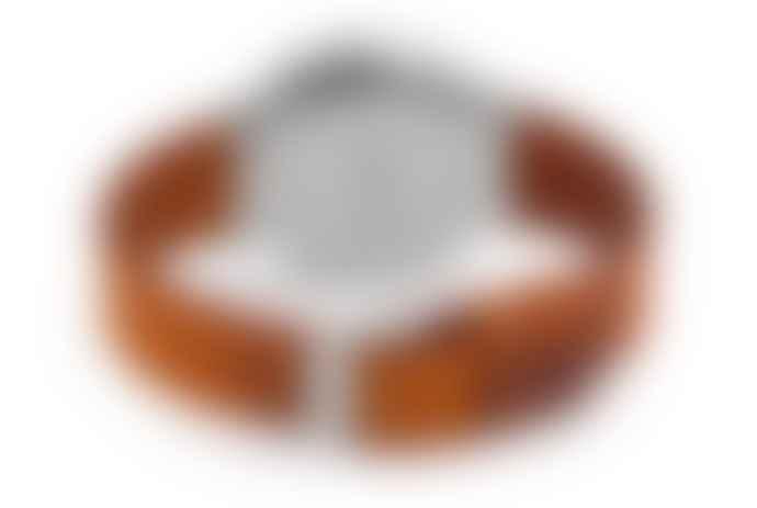 Komono Cognac Leather Walther Watch