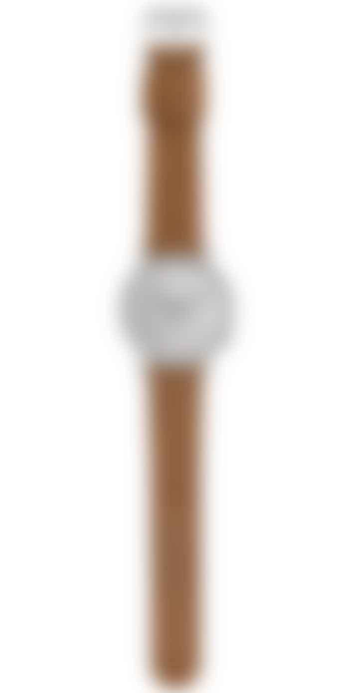 Komono Leather Lewis Metropolis Watch
