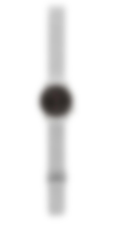 Komono Silver Black Winston Royale Watch