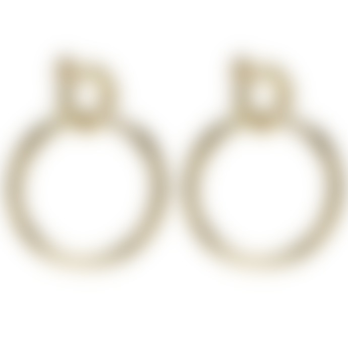 P D PAOLA Gold Valentina Earrings
