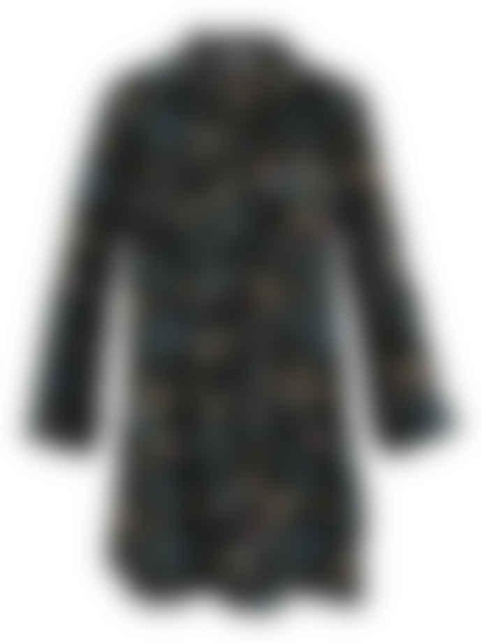 Wallace Cotton Black Mariella Nightshirt