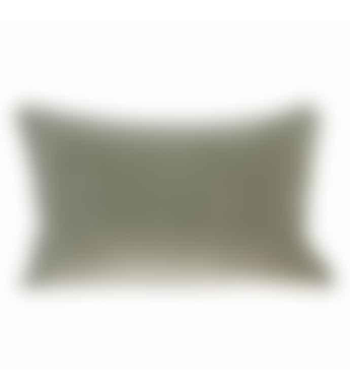 HK Living Green Velvet Pillow