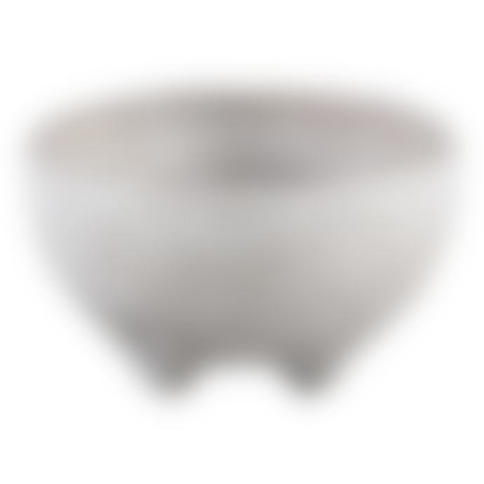 PTMD PTMD Grey Creed Concrete Ceramic Bowl