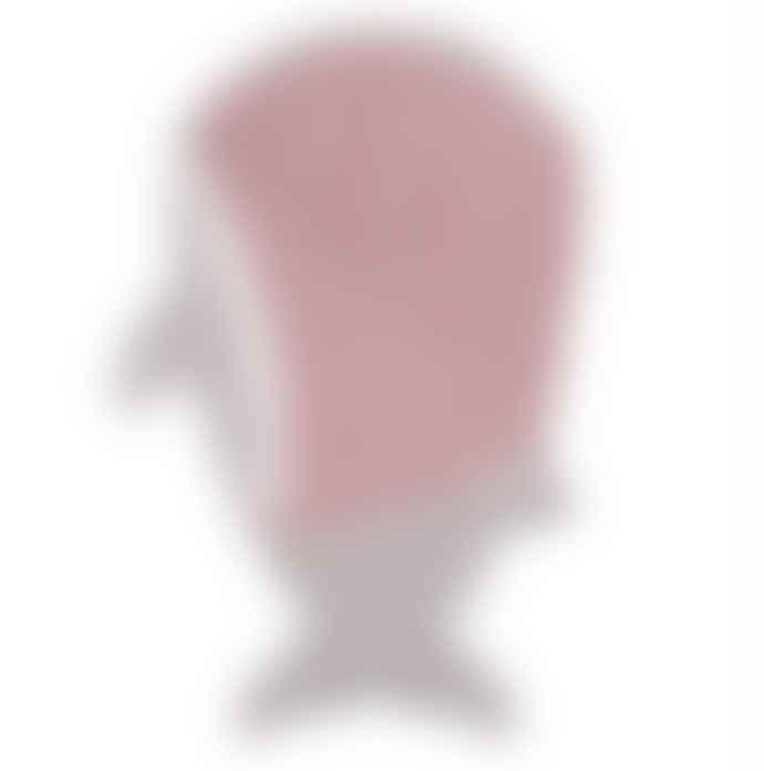 Baby Bites Stone Grey and Pink Shark Sleeping Bag