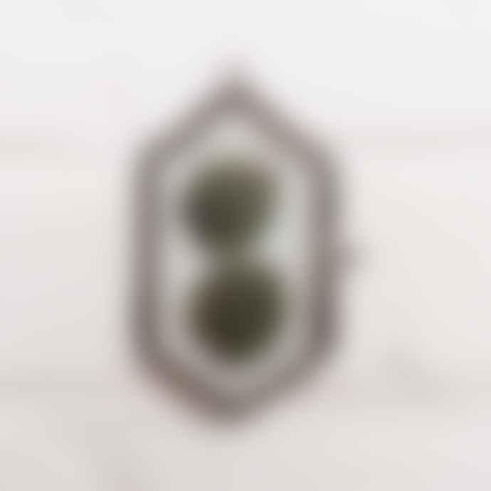 Madam Stoltz Small Black Metal Glass Frame