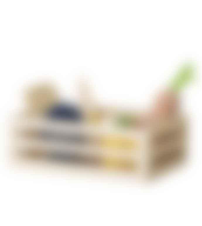 Bloomingville Wooden Fruit & Vegetable Food Set