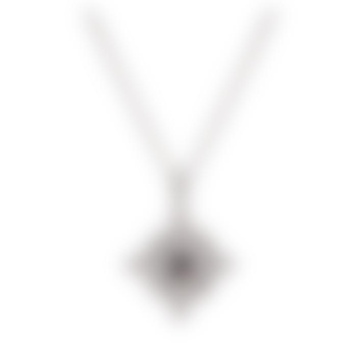 Kiki Minchin Silver & Black Amalfi Baby Coin Necklace