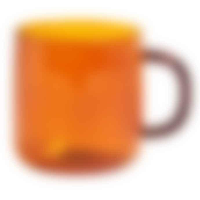 HAY Borosilicate Mug Amber