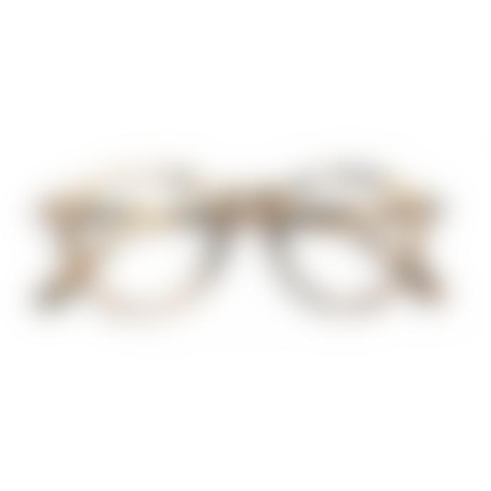 IZIPIZI Screen Protection Reading Glasses in Light Tortoise (Frame Shape: #D)