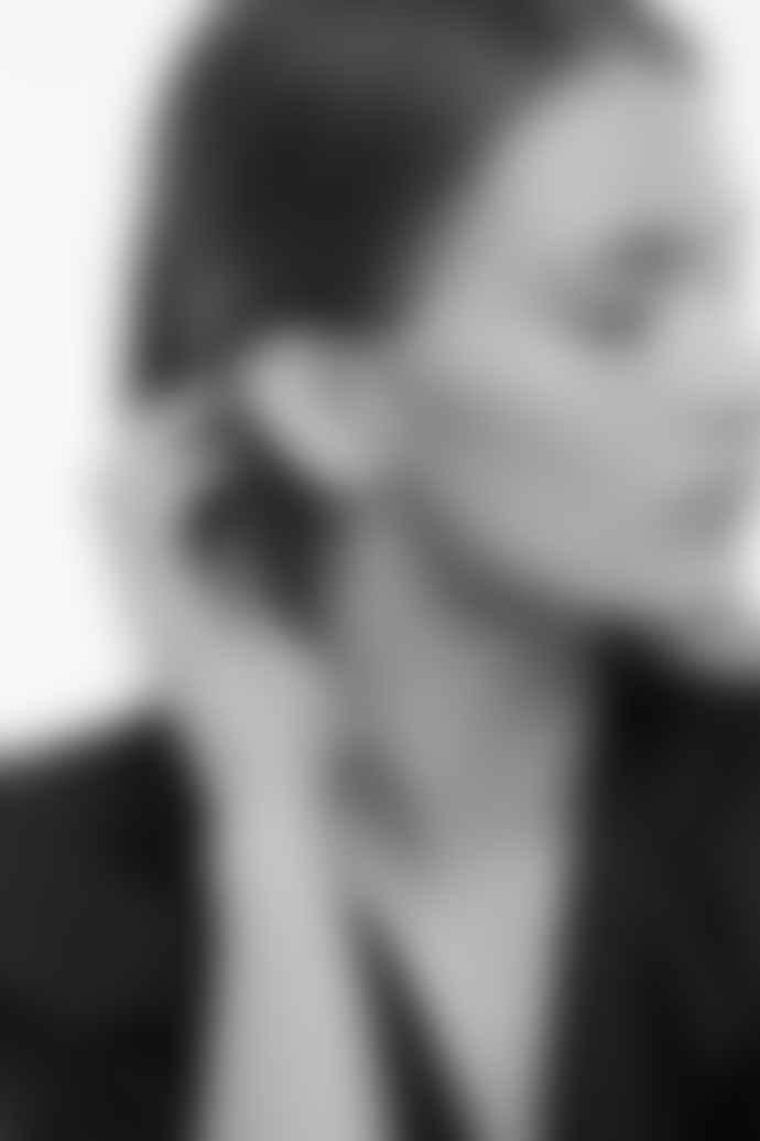 Tutti & Co Silver Linear Earrings
