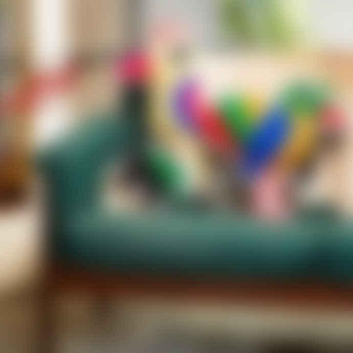 Kitsch Kitchen Parrot Cushion