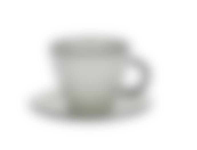 Pomax Porcelain Cup & Saucer