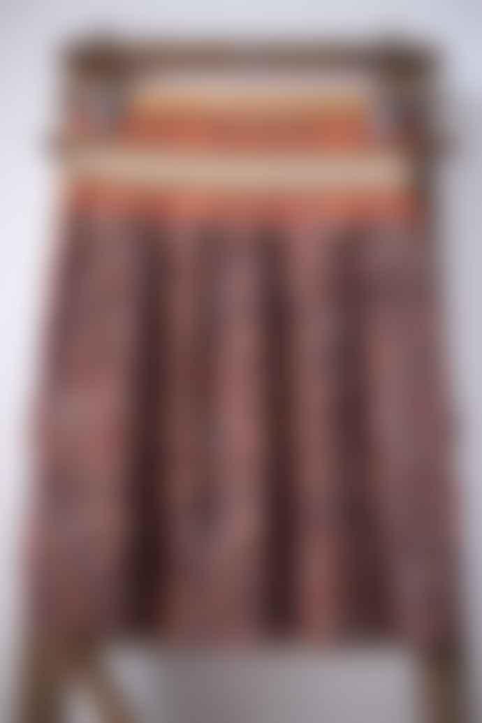 Scotch & Soda Contrast Waist Pleated Leopard Print Skirt