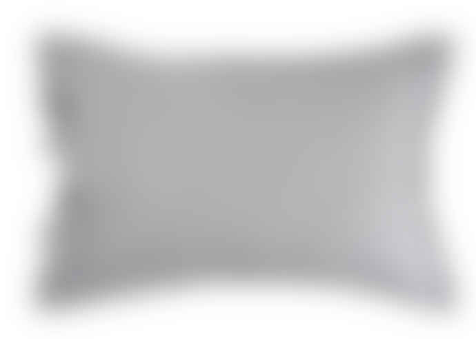 Wallace Cotton Black Corinthian Reversible Stripe Standard Pillowcase