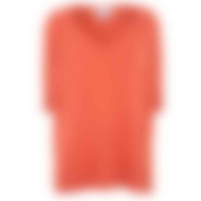 Absolut Cashmere Orange Poncho