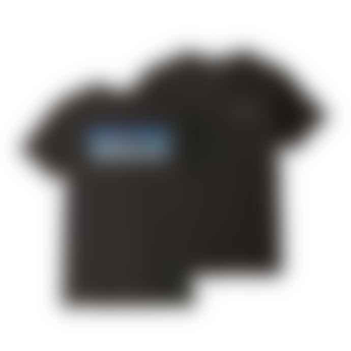 Patagonia Black P6 Logo Organic T-Shirt