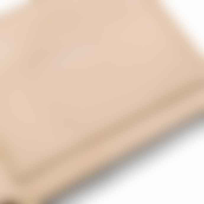 Saturdays NYC Bi Raw Vegetable Tan Fold Wallet