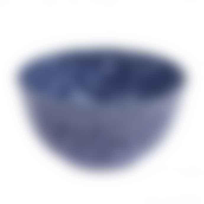 Faplana Melamine Bowl M Two-Color Blue