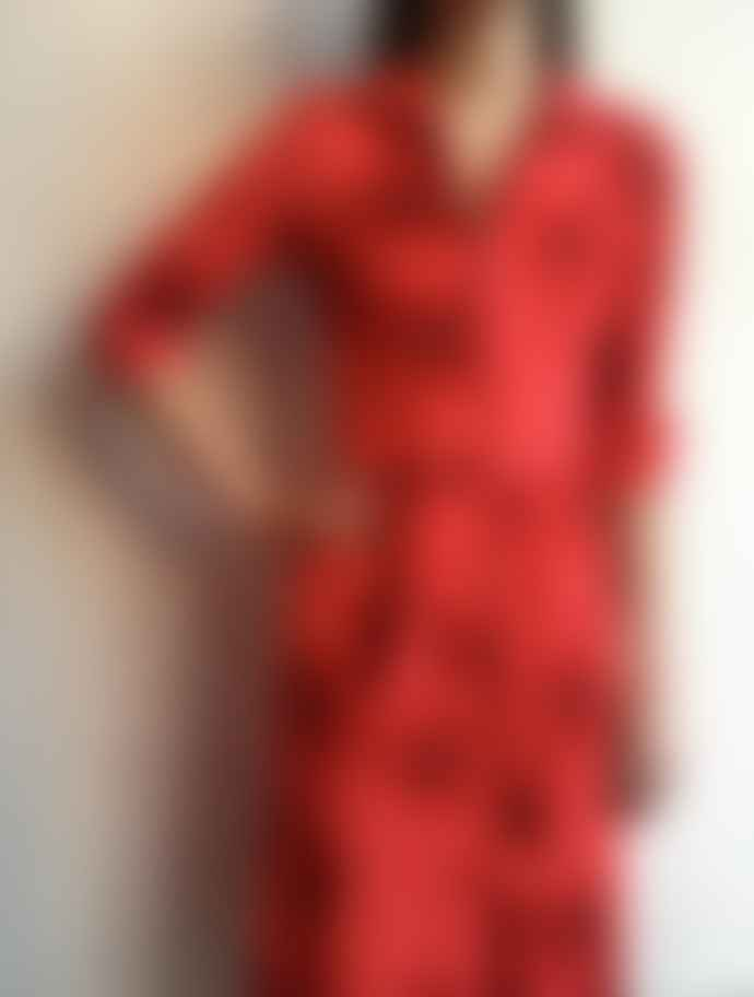 The West Village Red Shirt Dress