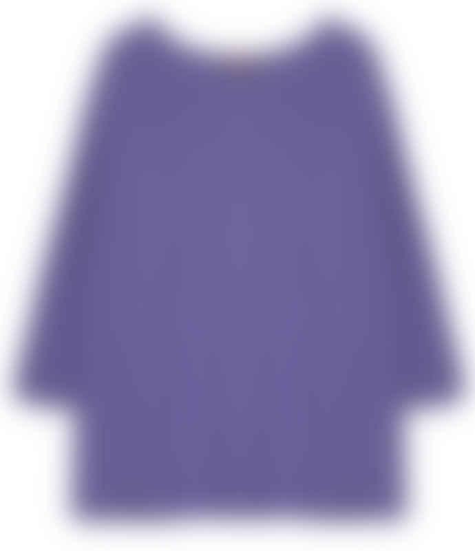 10per3 Oversize Purple Cotton Sweater
