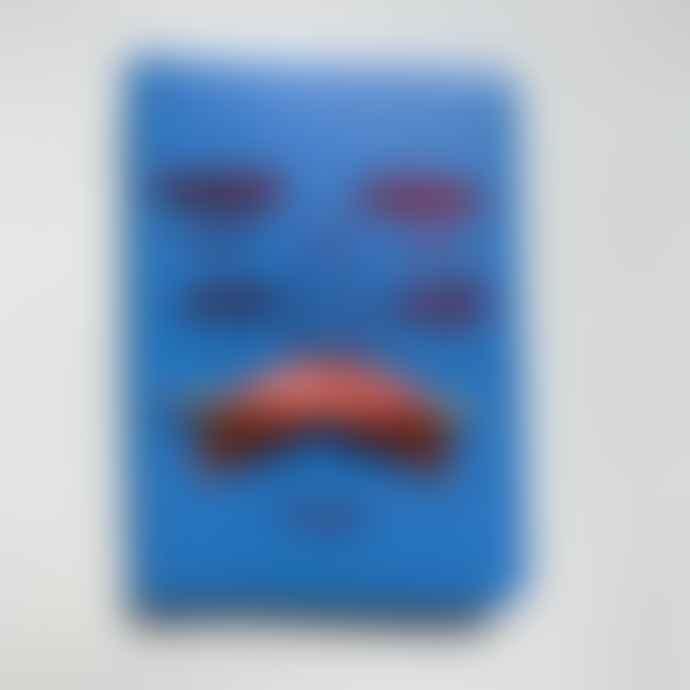 Ark Blue Mr Moustachio Journal