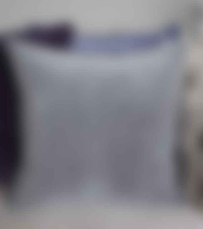 Biggie Best Grey Stonewashed Velvet Cushion