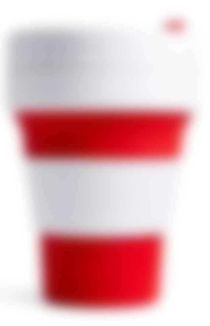 Stojo 12oz Red Stojo Cup