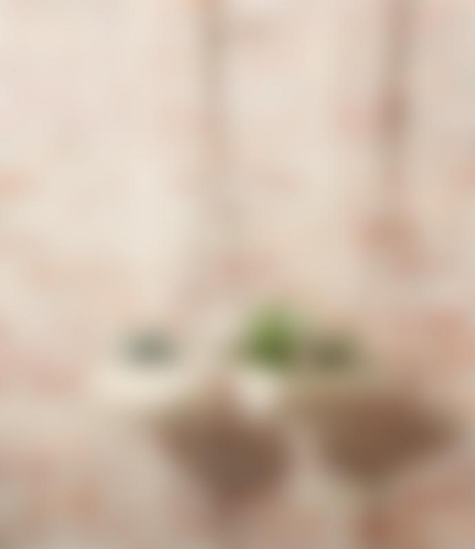Pomax Square Wood Hanging Flowerpot