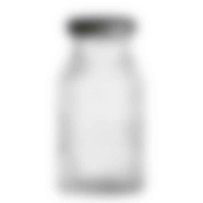 Bloomingville Small Clear Glass Bottle With Lid Set of 4