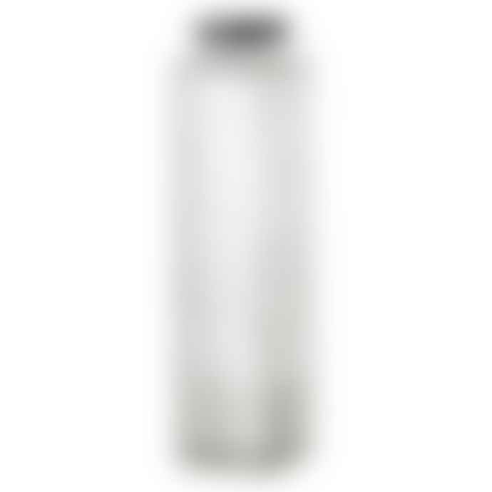 Bloomingville Medium Clear Glass Bottle With Lid