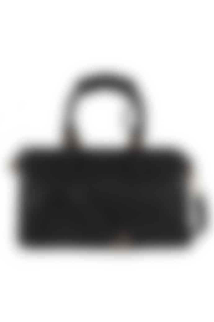 Med Winds Black Lisa Leather Bag
