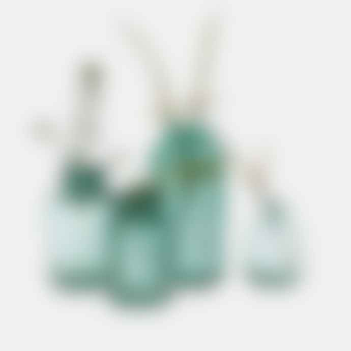 Nkuku Emerald Glass Vase