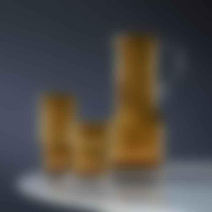 LSA International Amber Set Of 2 Utility Highball Glasses