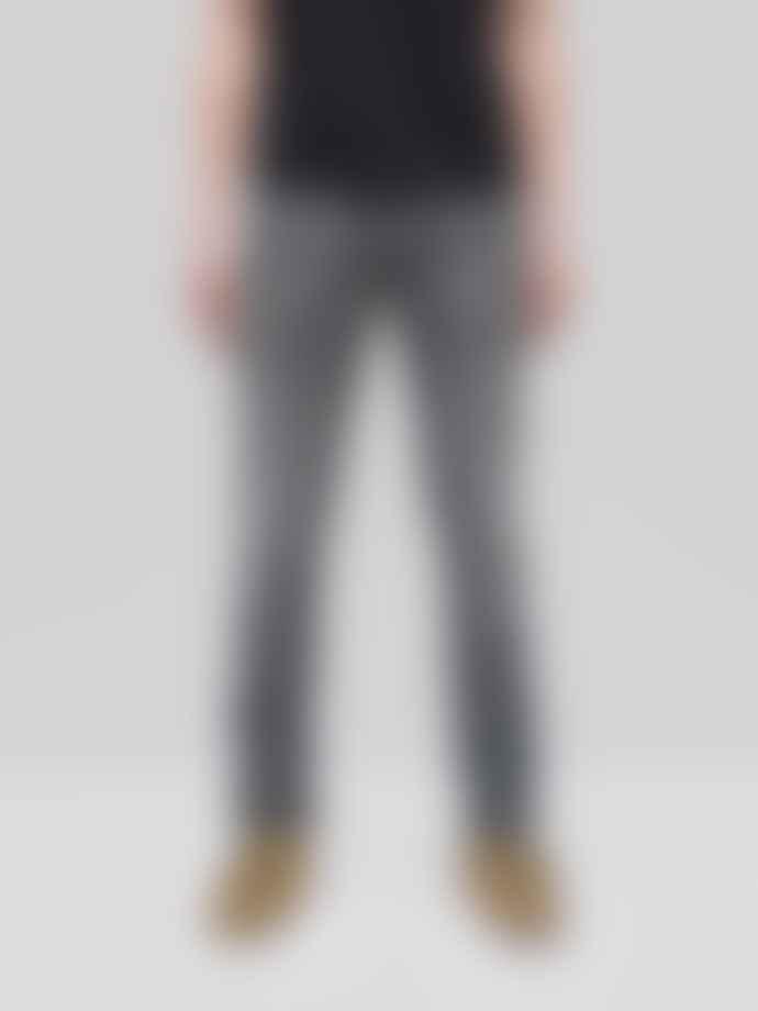 Nudie Jeans Grim Tim Shimmering Grey