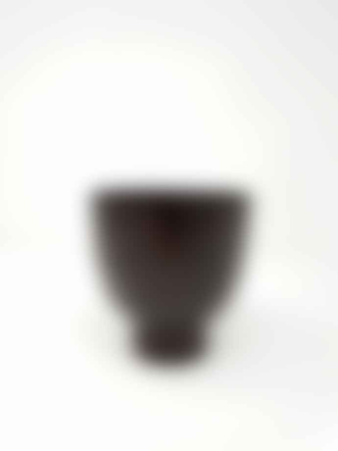 Broste Copenhagen Rusted Plum Small Urn Style Pot