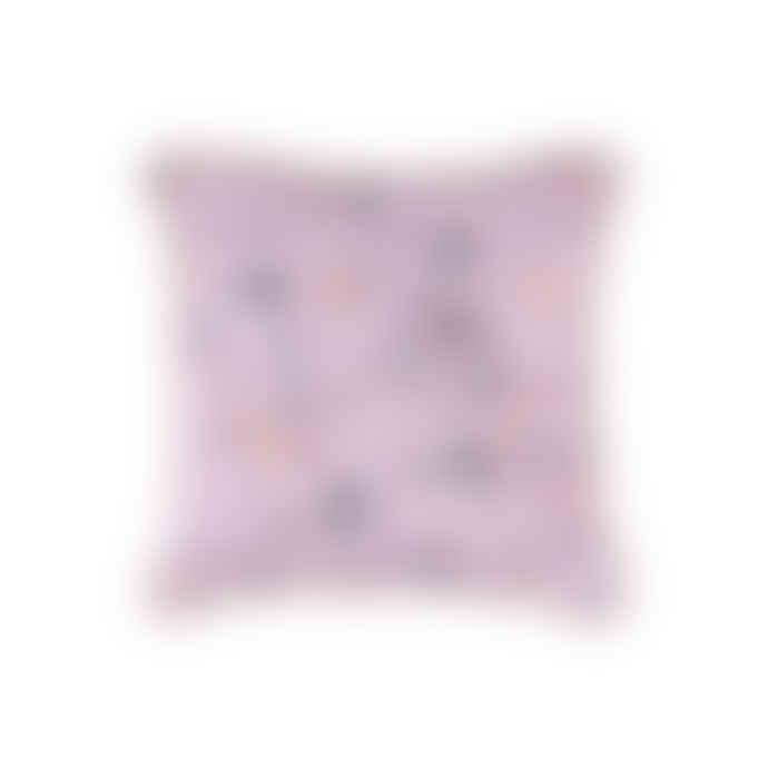 """Eno Studio Square Pink """"My Terrazza"""" Cotton Cushion"""