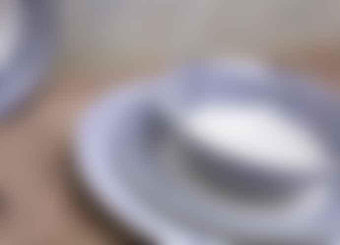 Nkuku Indigo Drop Cereal Bowl