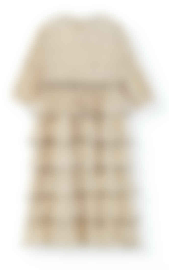 Ganni Pleated Dress