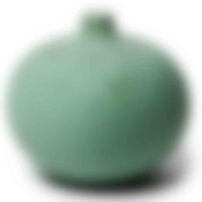 Lindform Bari Small Green Matt Vase