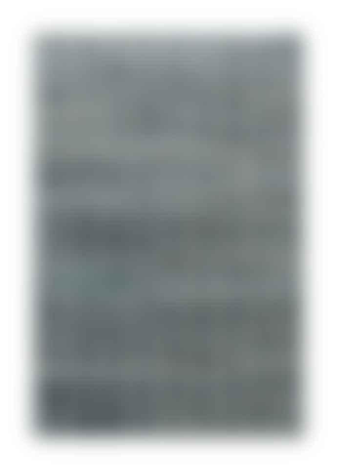 Bhadohi Carpets 240x300cm Silver Blue Barfly