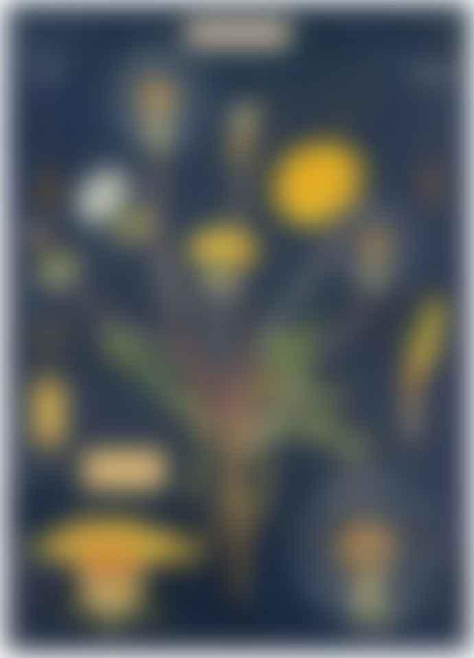 Cavallini & Co Dandelion Poster