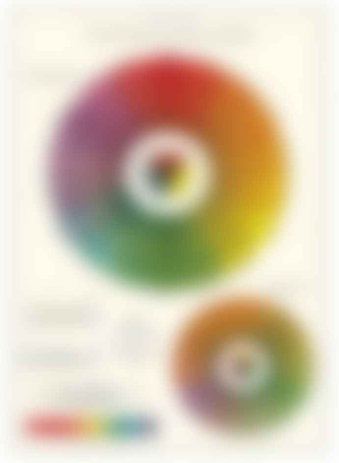 Cavallini & Co System of Colours Poster