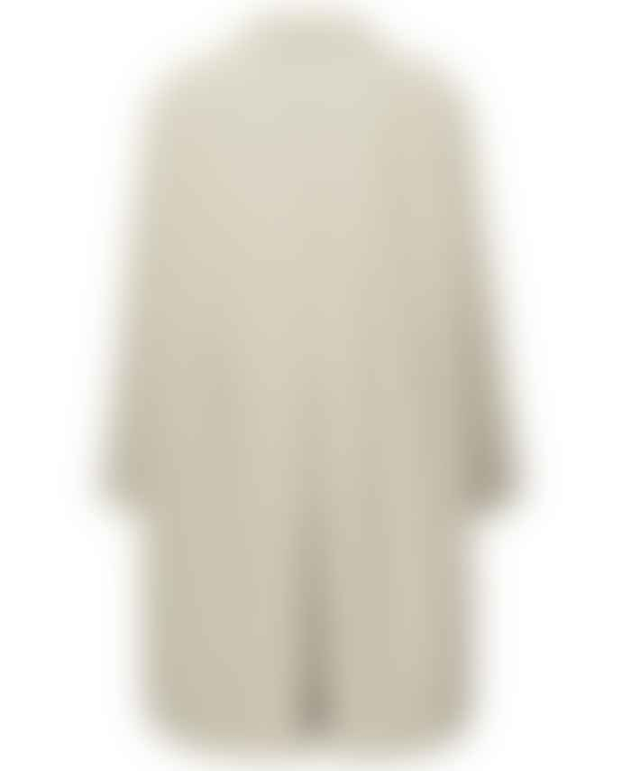 Yaya Sand Oversized Trench Coat