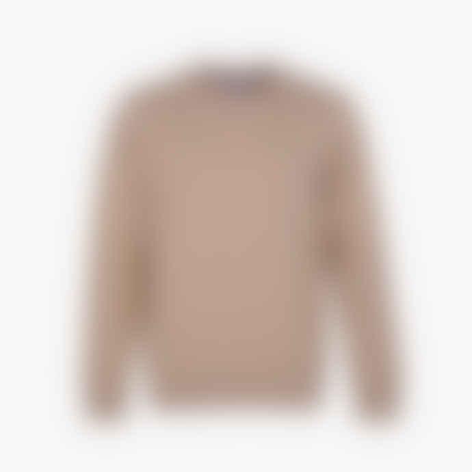 Colorful Standard Desert Khaki Crew Neck sweatshirt