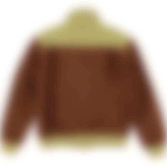 Levi's Brown Tone 1950s Zip Fleece Sweatshirt