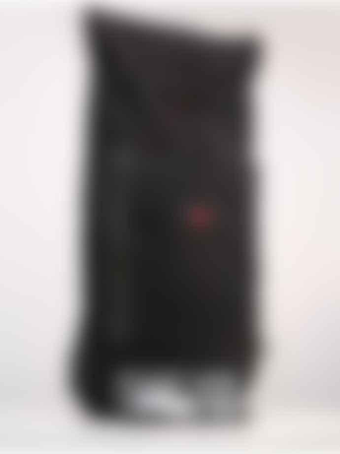 pinqponq Large Licorice Black Bold Blok Backpack Bag